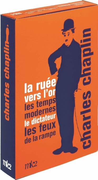 Charlie Chaplin - Coffret 4 films