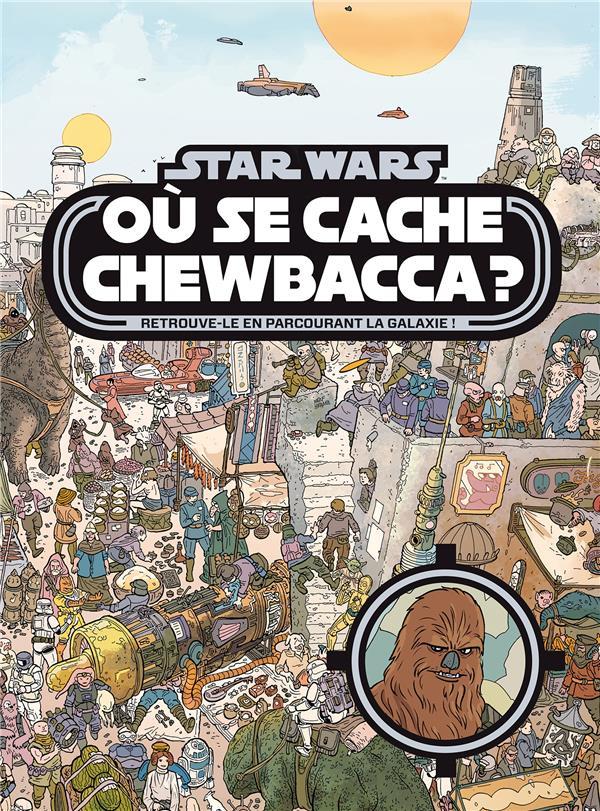Star Wars ; où se cache Chewbacca ?