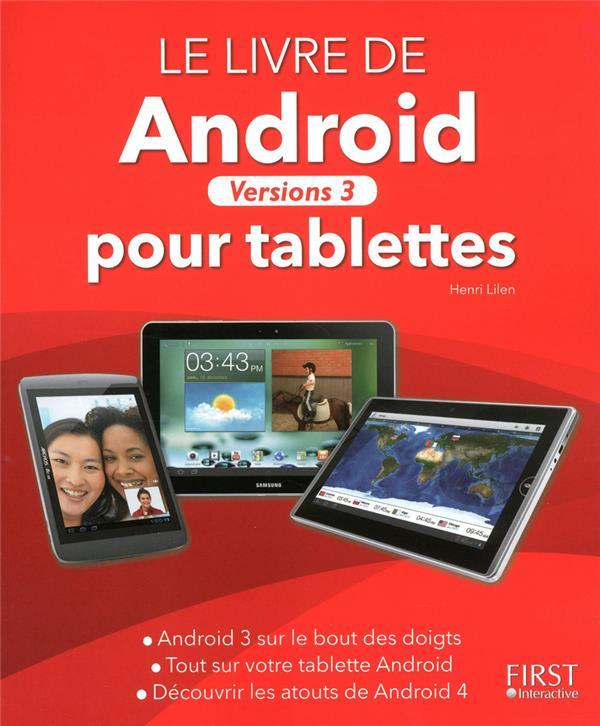 Livre D'Android Pour Tablettes ; Versions 3