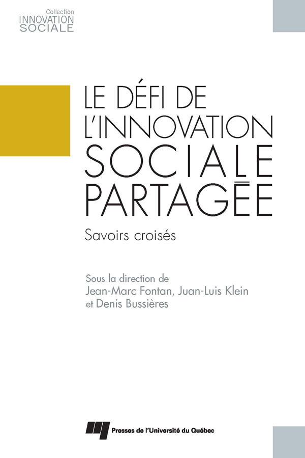 Defi de l innovation sociale partagee
