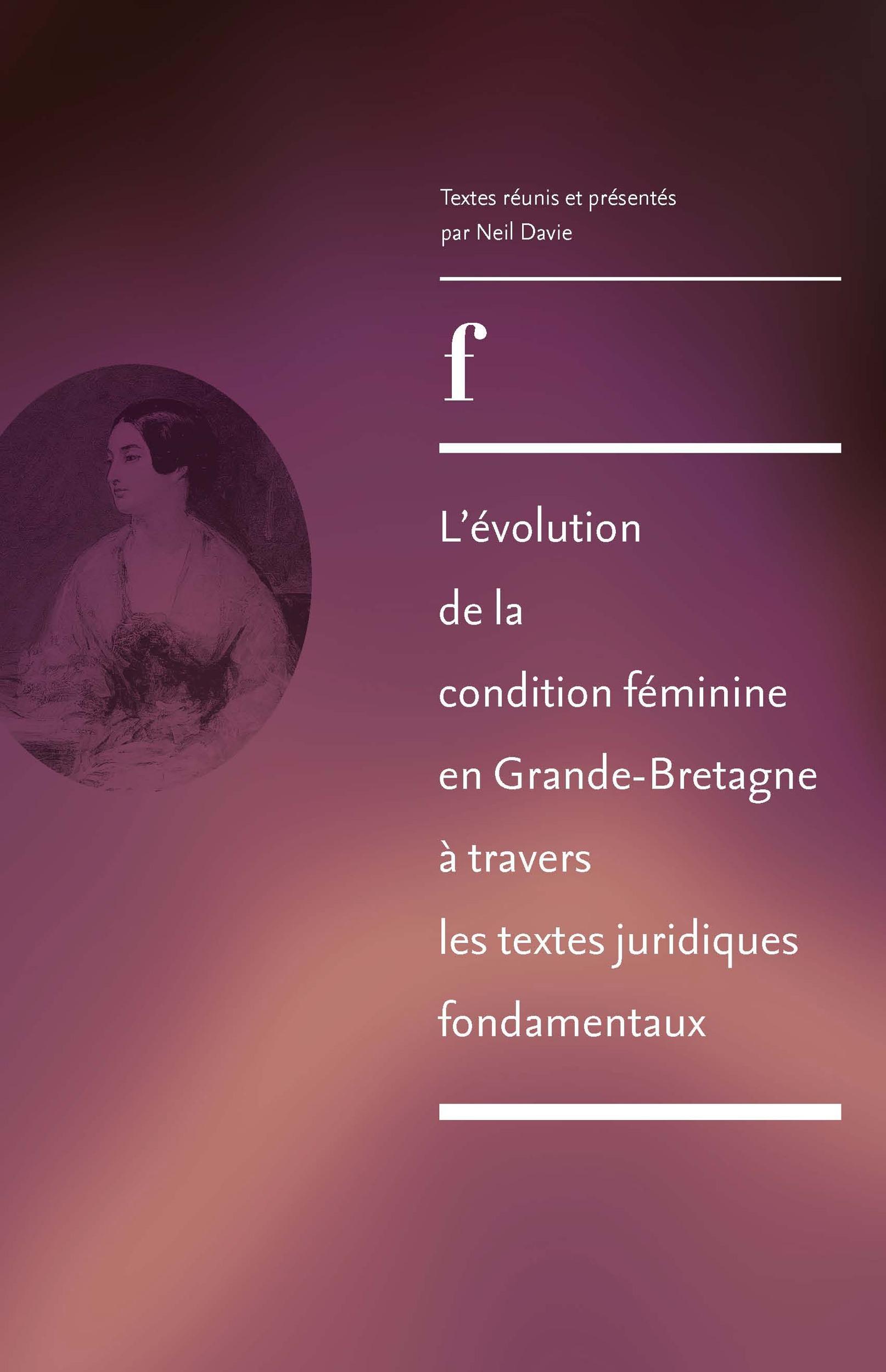 l'evolution de la condition feminine en grande-bretagne a travers les textes juridiques fondamentaux