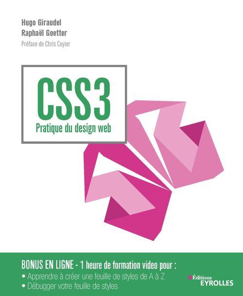 Css3 ; pratique du design web (4e édition)