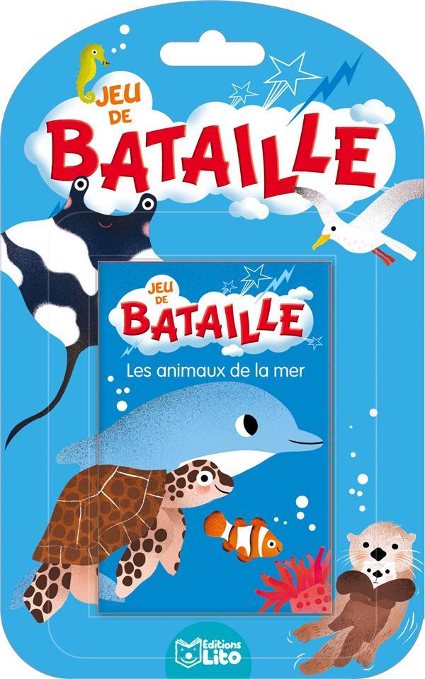 XXX - JEUX DE BATAILLE  -  JEU DE BATAILLE  -  LES ANIMAUX DE LA MER