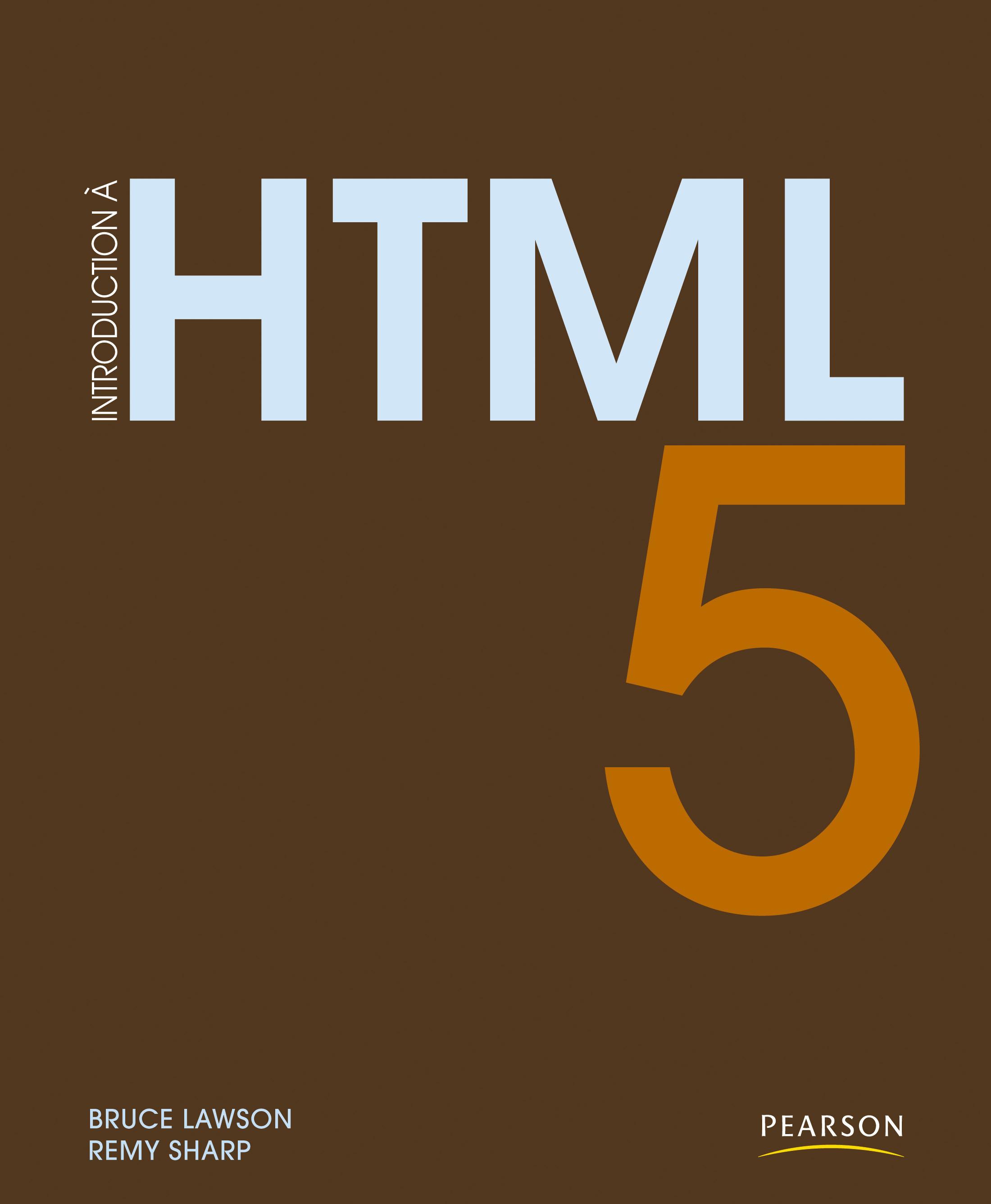 Introduction à HTML 5