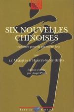 Couverture de Six nouvelles chinoises t.1