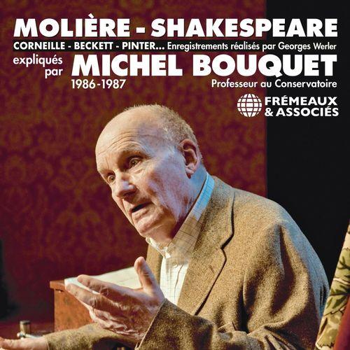 Vente AudioBook : Molière, Shakespeare, Corneille, Beckett, Pinter...  - Michel Bouquet