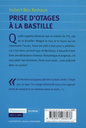 Prises d'otages à la Bastille