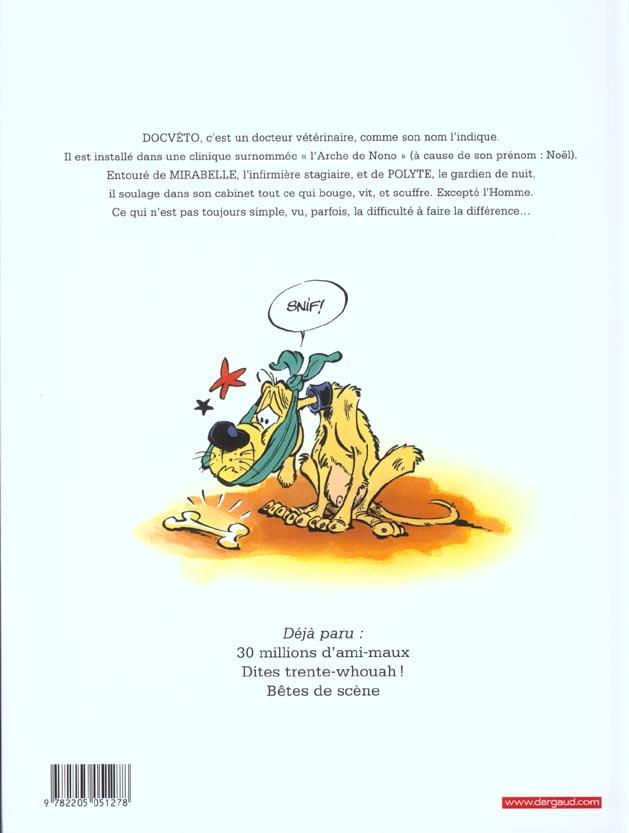 Doc Véto t.3 ; bêtes de scène