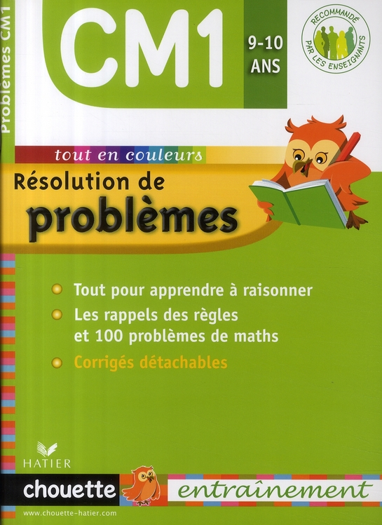 chouette ; résolution de problèmes ; CM1