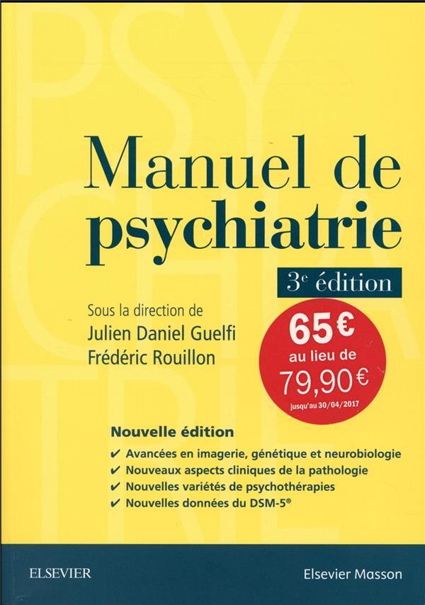 manuel de psychiatrie (3e édition)