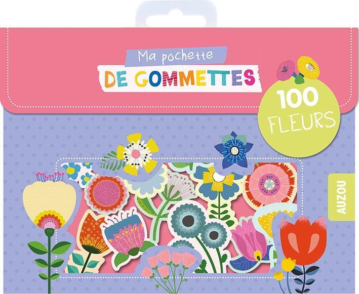 MA POCHETTE DE GOMMETTES - 100 GOMMETTES FLEURS