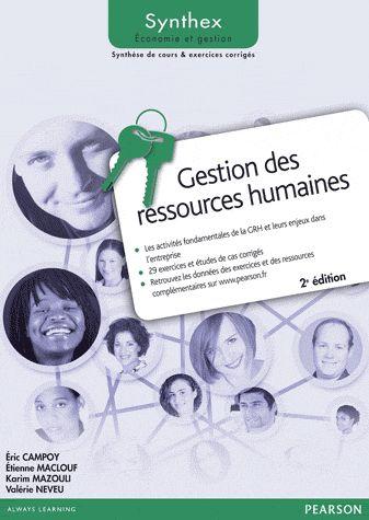 SYNTHEX ; gestion des ressources humaines (2e édition)