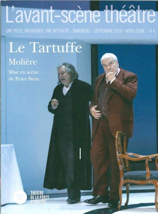 Revue l'avant-scene theatre ; tartuffe