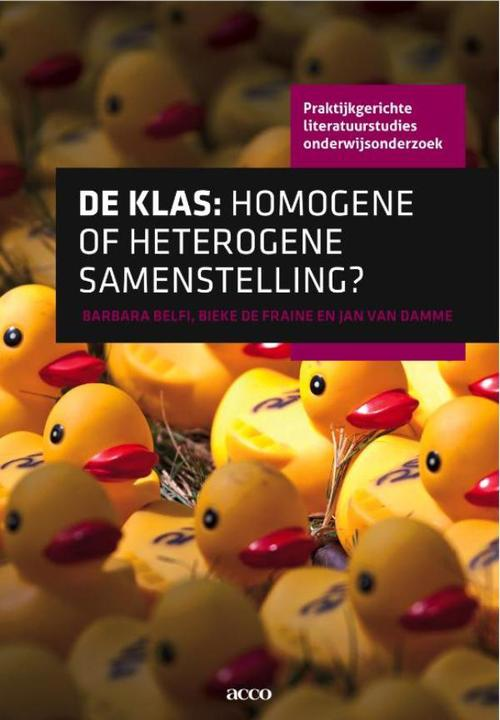 De klas: homogene of heterogene samenstelling