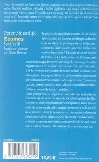 Ecumes ; sphères t.3
