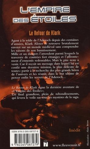 L'empire des étoiles t.9 ; le retour de Klark