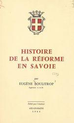 Histoire de la Réforme en Savoie