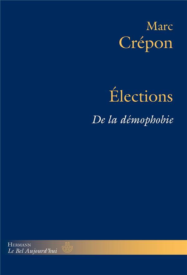 élections ; de la démophobie