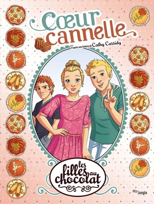 Les filles au chocolat T.12 ; coeur cannelle