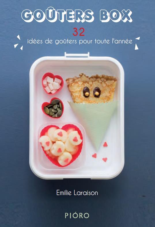 Goûters box ; 32 idées de goûters pour toute l'année