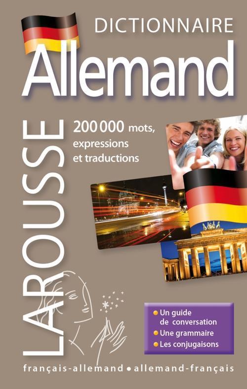 Dictionnaire Larousse De Poche Plus ; Francais-Allemand / Allemand-Francais