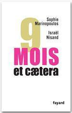 Vente Livre Numérique : 9 mois, et caetera  - Israël Nisand - Sophie Marinopoulos