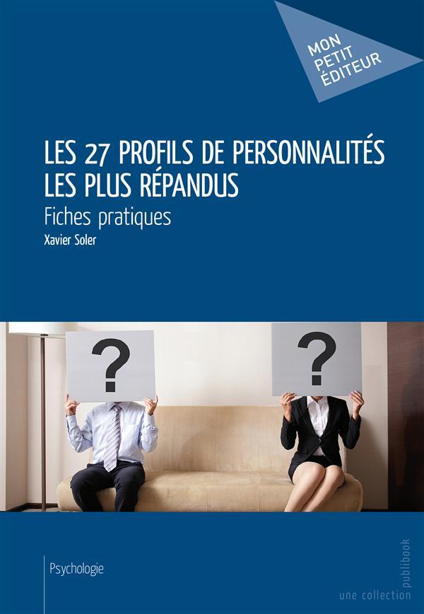 Les 27 profils de personnalités les plus répandus