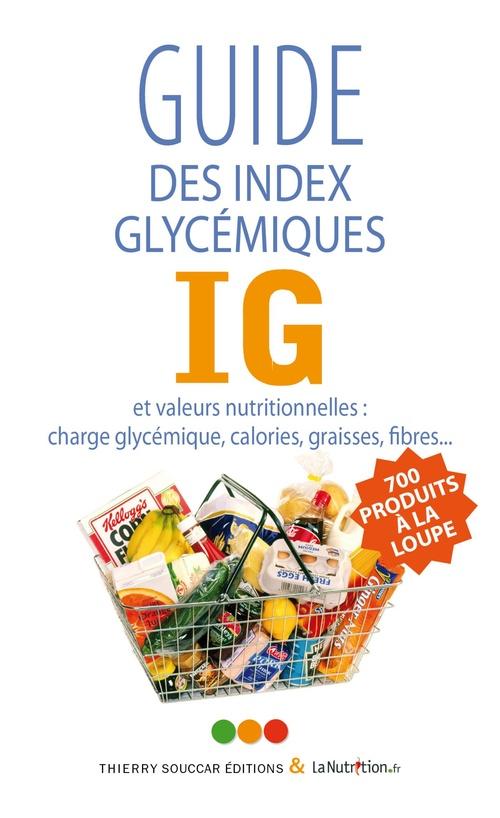 Le guide des index glycémiques