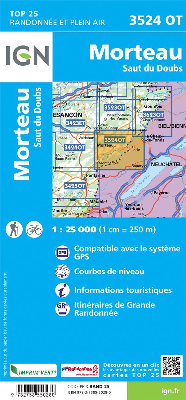3524OT : Morteau, Saut du Doubs