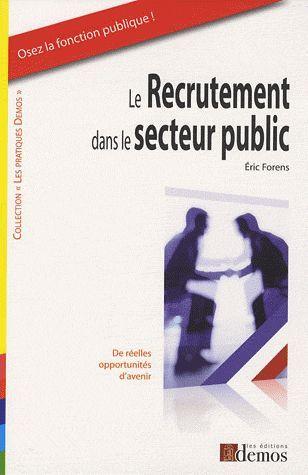 Le recrutement dans le secteur public