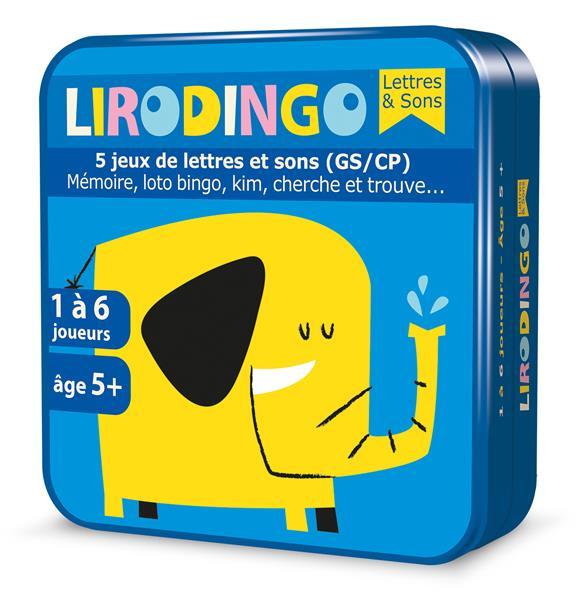 lirodingo ; lettres et sons