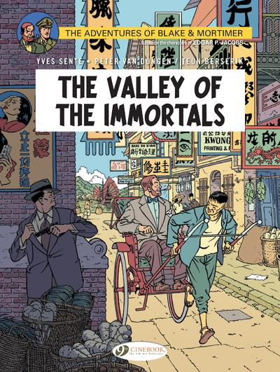 Blake et Mortimer T.25 ; the valley of the immortals