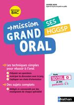 Vente Livre Numérique : Mission Grand Oral - SES / HGGSP - Terminale - Nouveau Bac  - Nicolas Coppens - Olivier Jaoui - Etienne Scharr - Garance Ouazine