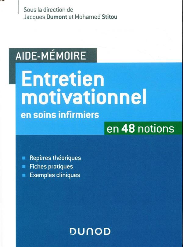Entretien motivationnel ; en 30 fiches