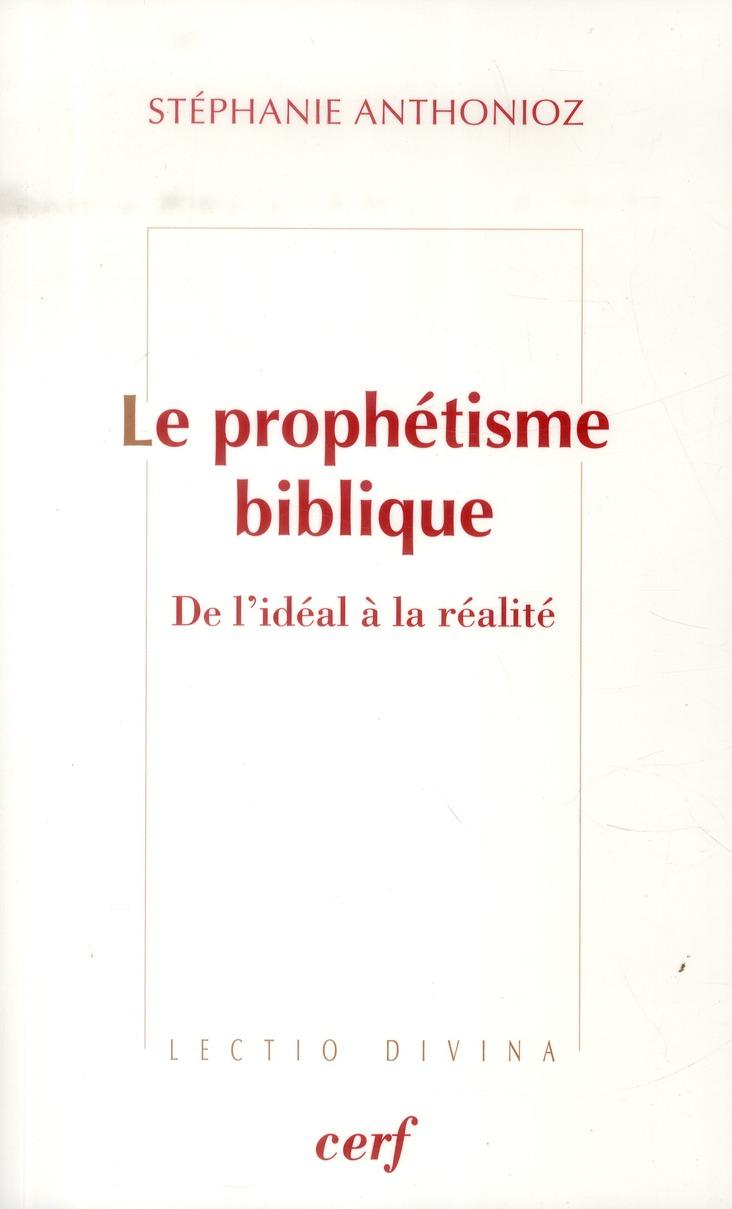 le prophetisme biblique
