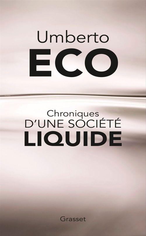 Chroniques d'une société liquide