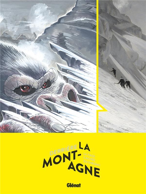 derrière la montagne ; la face cachée du tableau ; peinture et bande dessinée