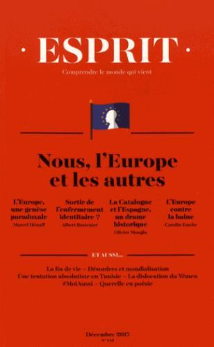 Esprit ; nous, l'europe et les autres