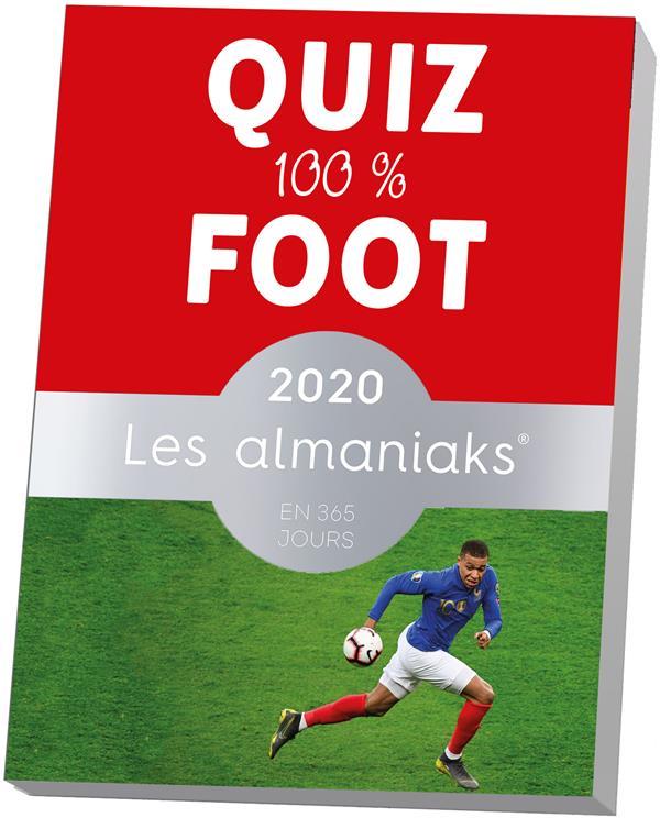 Almaniak Quiz 100 Foot édition 2020 Nicolas Gettliffe Editions 365 Papeterie Coloriage Pavé Dans La Mare Elancourt
