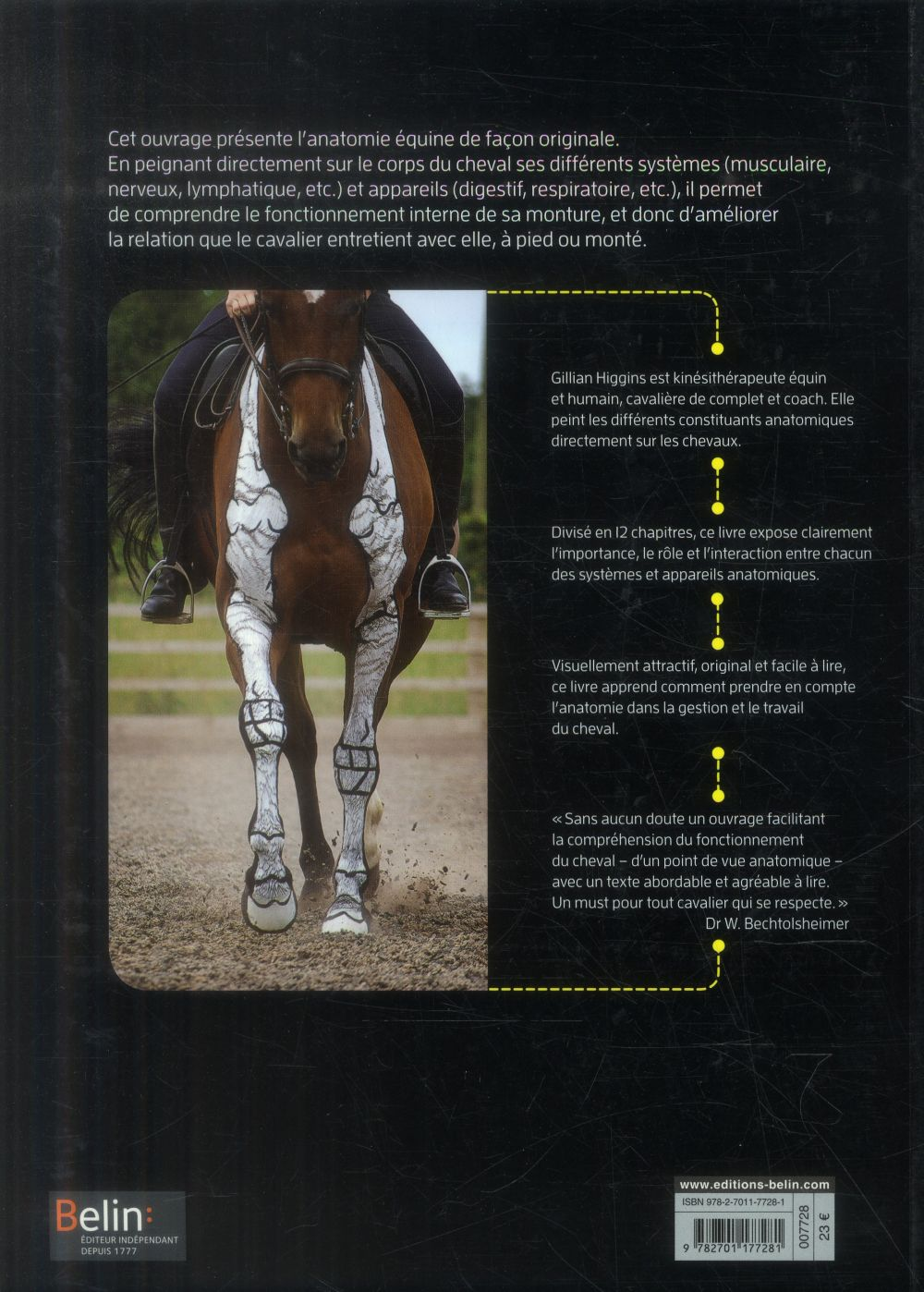 Anatomie du cheval et performance ; un guide pratique pour connaître son cheval