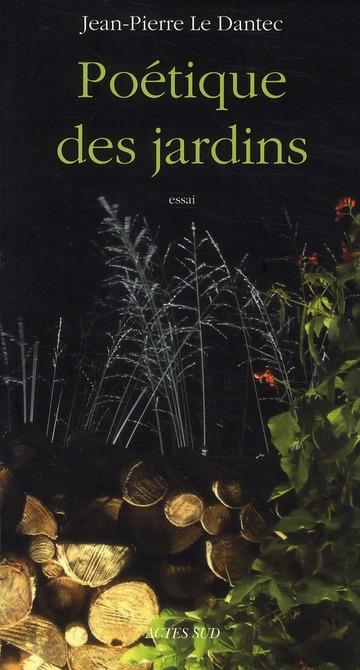 Poétique des jardins