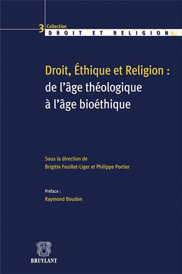 droit, éthique et religion
