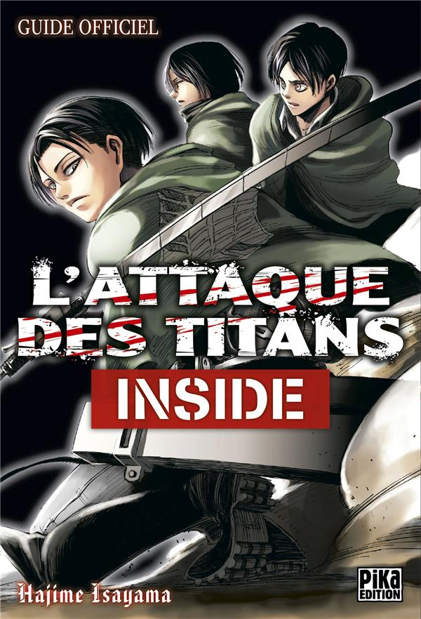 L'attaque des titans ; inside ; guide officiel