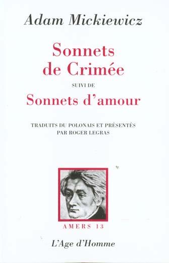 Le sonnets de crimee