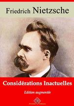 Vente Livre Numérique : Considérations inactuelles - suivi d'annexes  - Friedrich Nietzsche