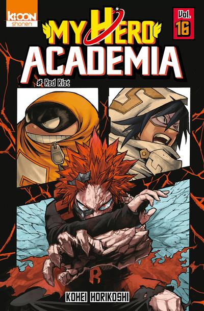 my hero Academia t.16 ; red riot