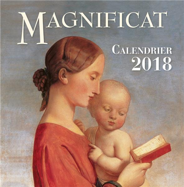 Calendrier Magnificat (édition 2018)
