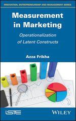 Measurement in Marketing  - Azza Frikha