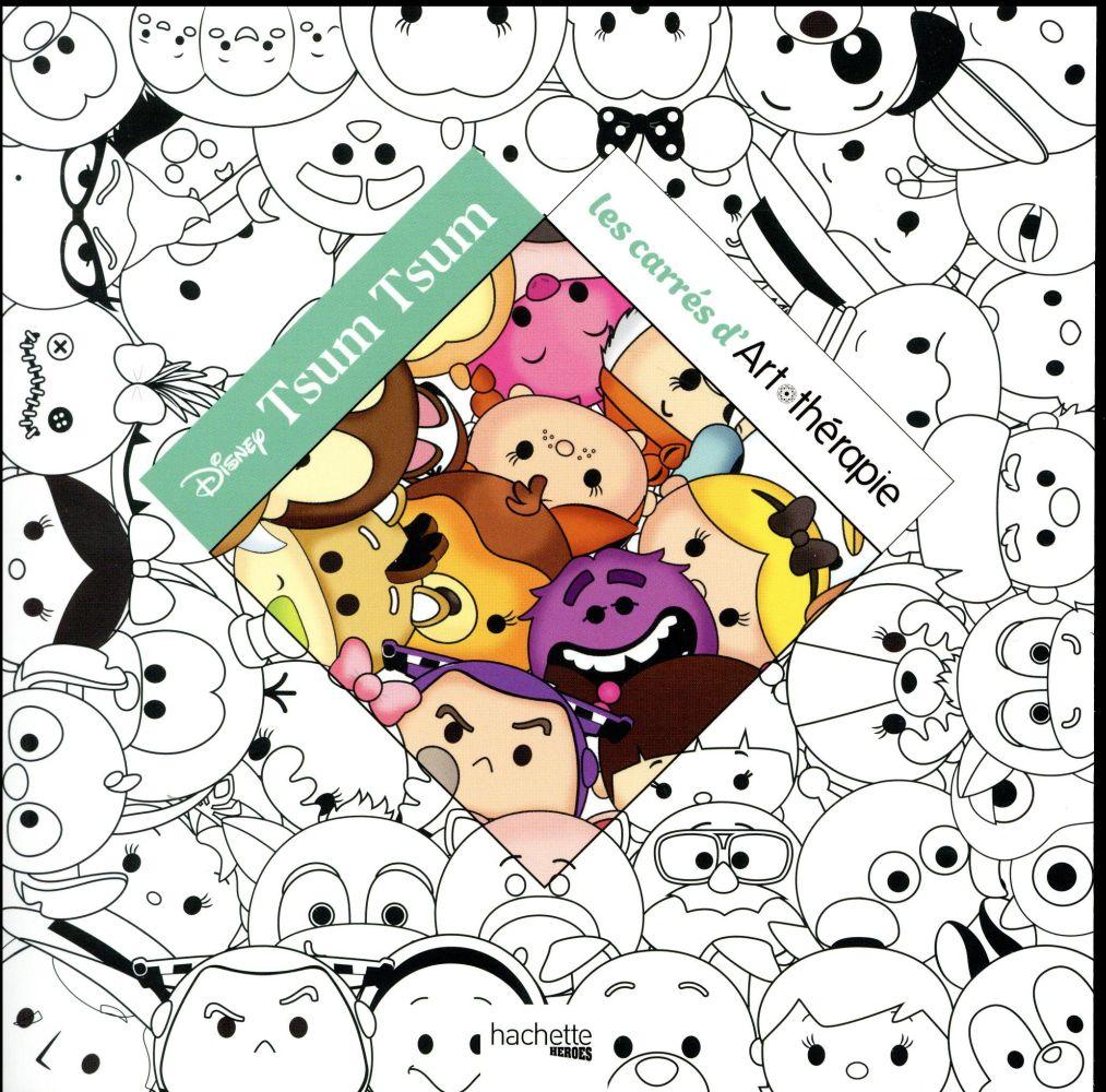 Disney Tsum Tsum Les Carres D Art Therapie Disney Hachette Pratique Grand Format Le Camphrier Japan Shop Strasbourg