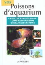 Couverture de Vos poissons d'aquarium